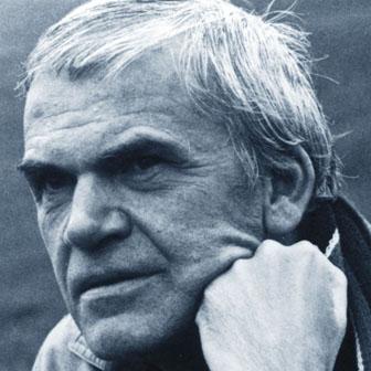 Foto di Milan Kundera