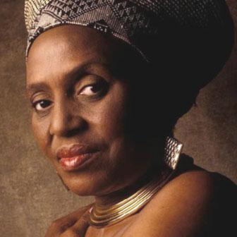 Foto di Miriam Makeba