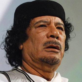 Foto di Muammar Gheddafi