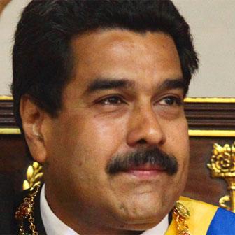 Foto quadrata di Nicolás Maduro
