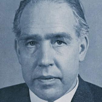 Foto di Niels Bohr