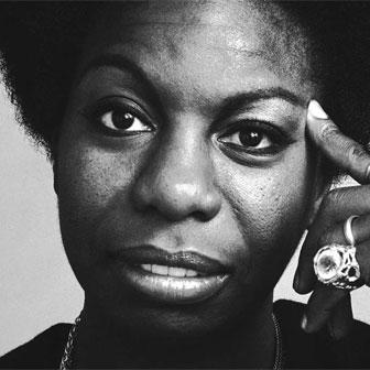Foto quadrata di Nina Simone