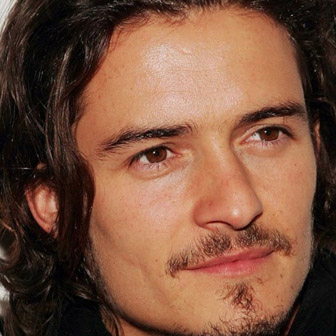 Foto quadrata di Orlando Bloom