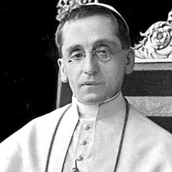 Foto di Papa Benedetto XV