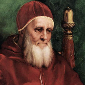 Foto di Papa Giulio II