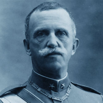 Foto di Re Vittorio Emanuele III