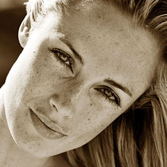 Foto quadrata di Reeva Steenkamp