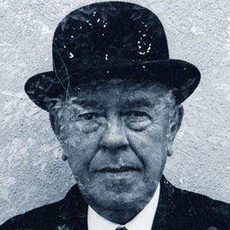 Foto di René Magritte