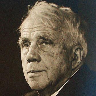 Foto quadrata di Robert Frost