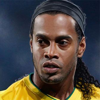 Foto quadrata di Ronaldinho