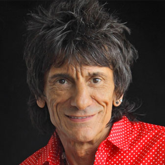 Foto quadrata di Ronnie Wood