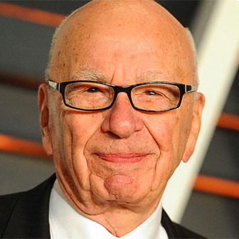 Foto quadrata di Rupert Murdoch