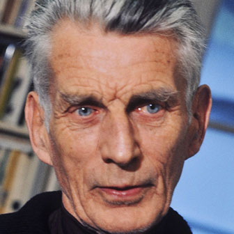 Foto di Samuel Beckett