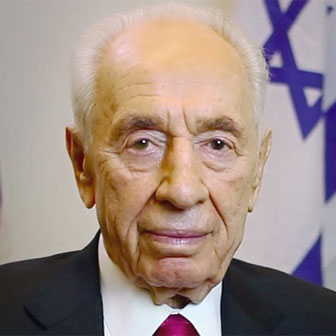 Foto di Shimon Peres