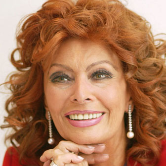 Foto quadrata di Sophia Loren