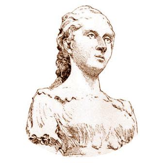 Foto quadrata di Sophie Germain
