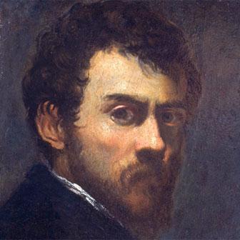 Foto quadrata di Tintoretto