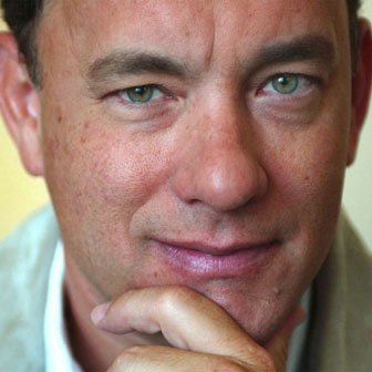 Foto quadrata di Tom Hanks