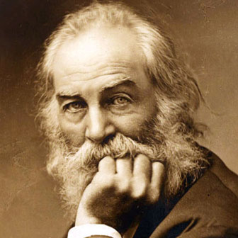Frasi e poesie di Walt Whitman