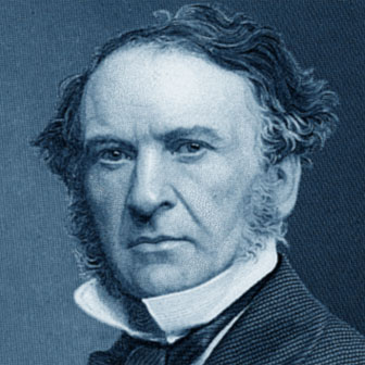 Foto quadrata di William Ewart Gladstone