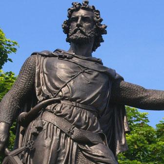 Foto quadrata di William Wallace