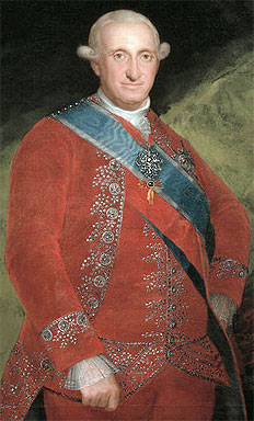 Foto media di Carlo IV di Spagna