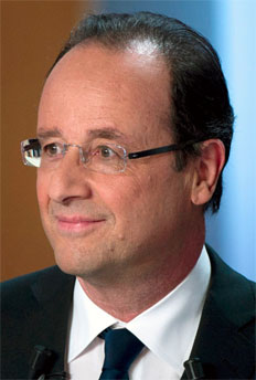 Foto media di François Hollande