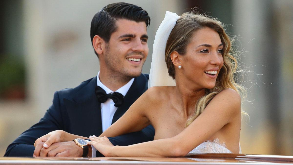 Alice Campello matrimonio con Alvaro Morata