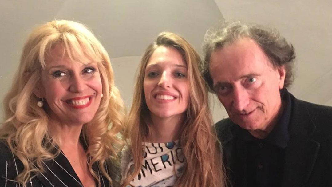 Amedeo Goria con Guenda e Maria Teresa Ruta