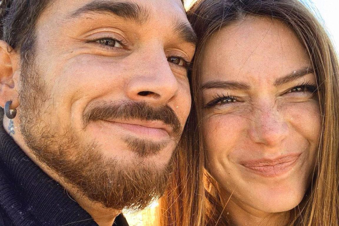 Andrea Cerioli con la fidanzata Arianna Cirrincione