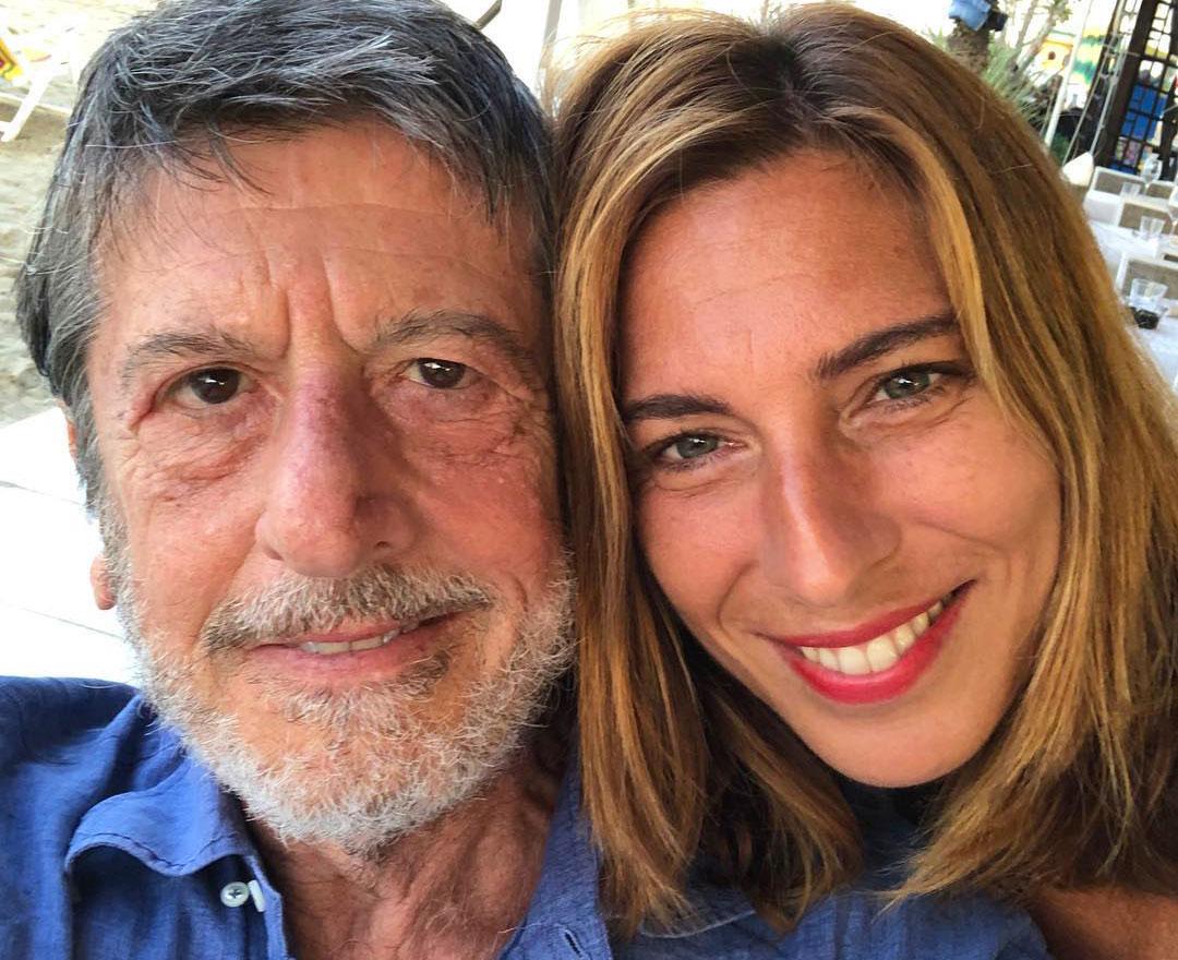 Andrea Purgatori con Errica Dall'Ara