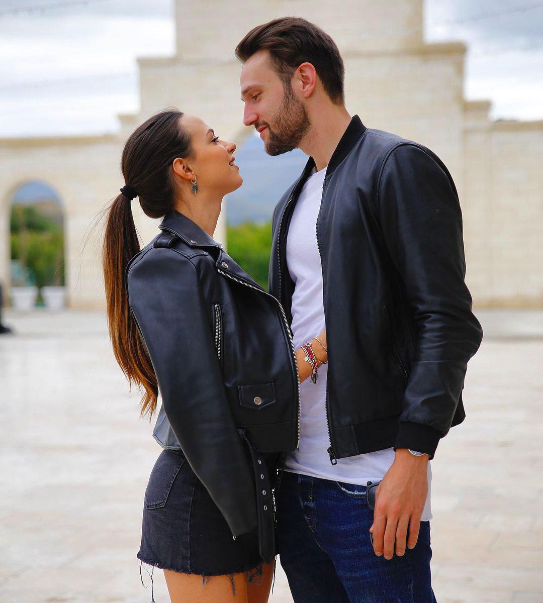 Andrea Zenga con la fidanzata Alessandra Sgolastra