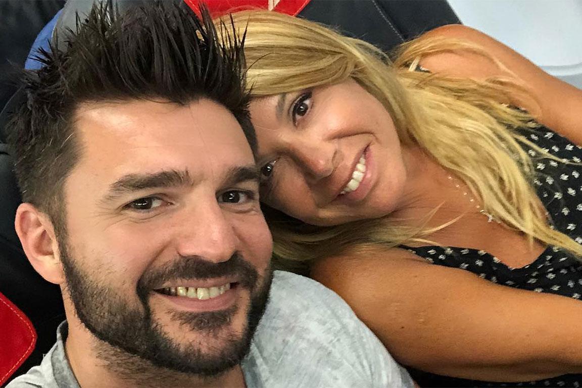 Anna Pettinelli con Stefano Macchi