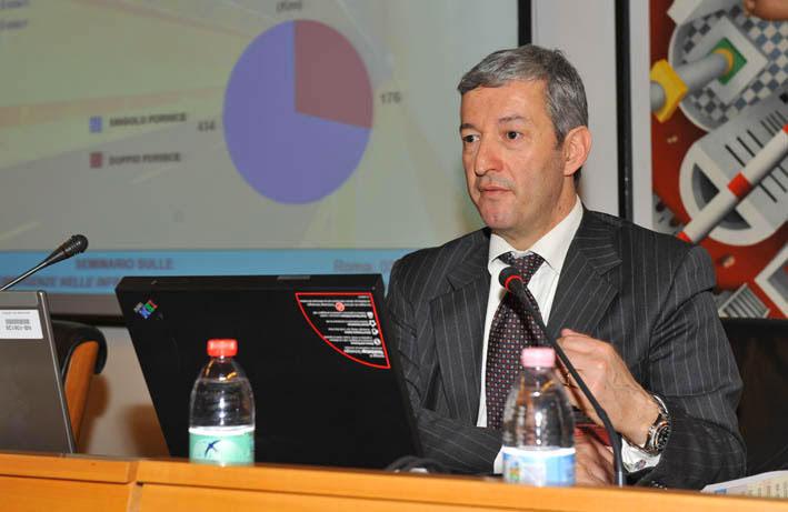 Antonio Valente nel 2012. ANAS: Presentazione Memoria Infrastrutture, Congresso Roma