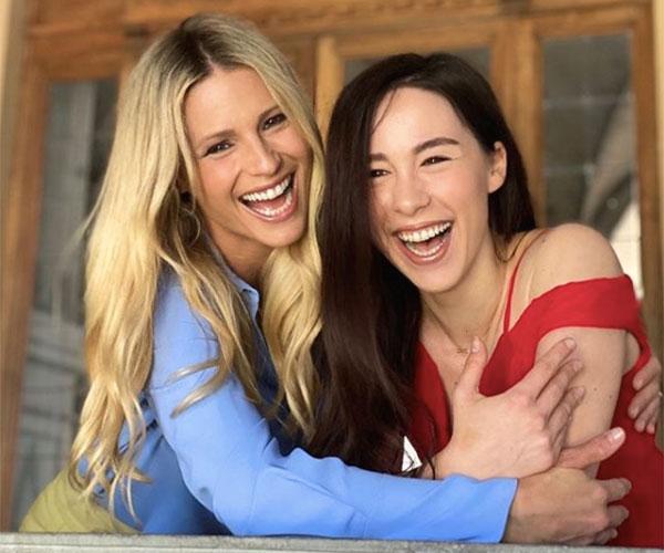 Aurora Ramazzotti con Michelle Hunziker