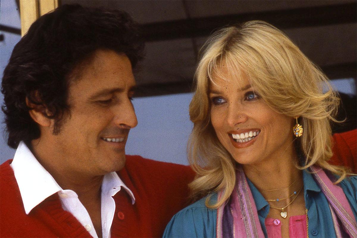 Barbara Bouchet con Luigi Borghese