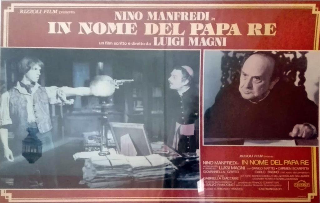 Danilo Mattei con Nino Manfredi