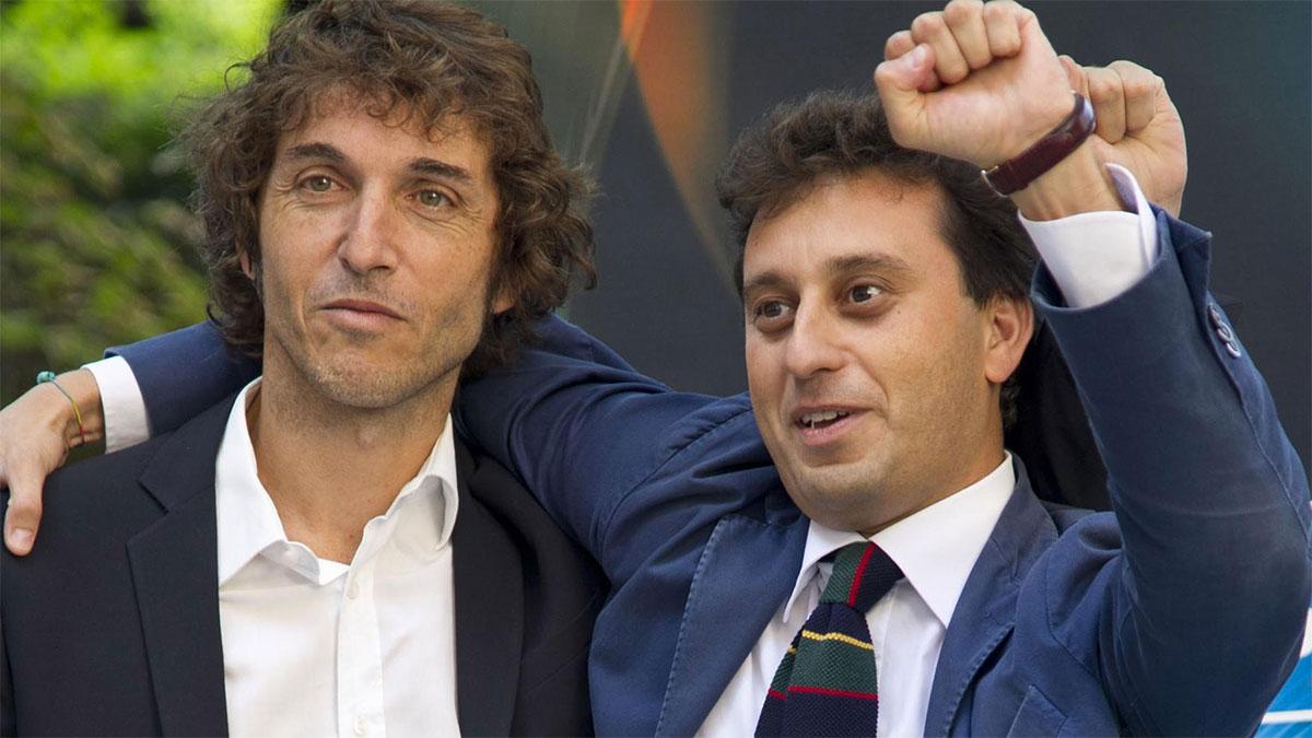 David Parenzo con Giuseppe Cruciani