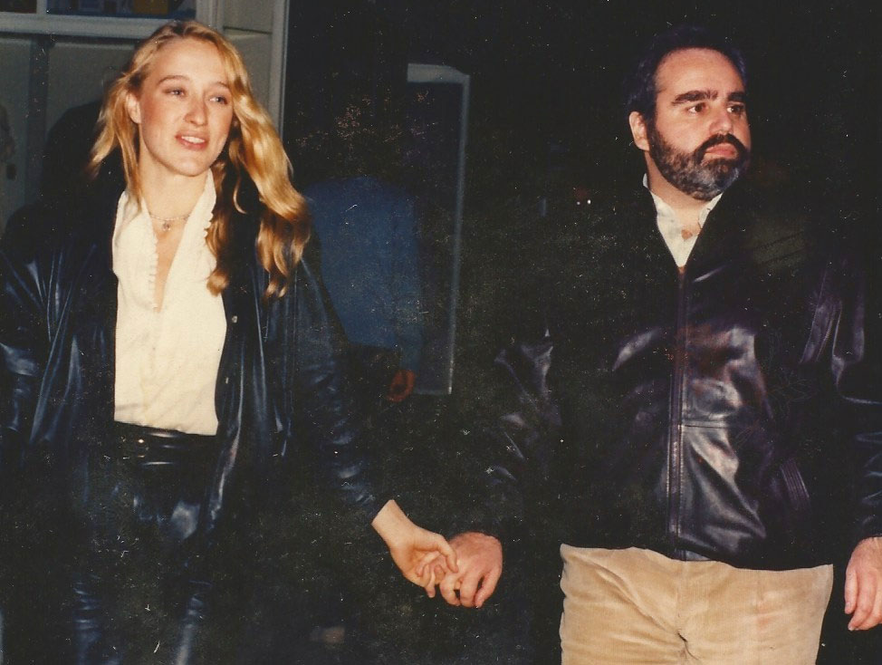 Eleonora Giorgi con Angelo Rizzoli