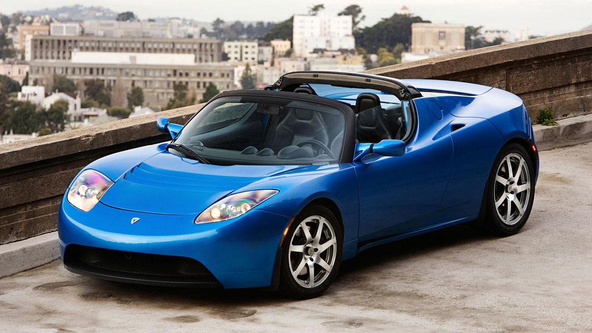 Tesla Roadster 2008 di Elon Musk