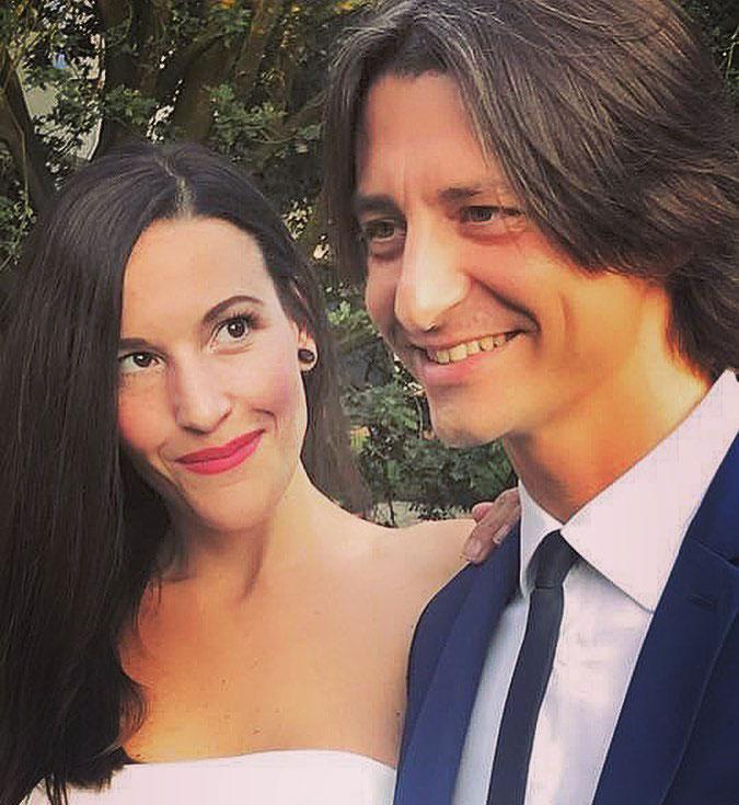 Francesco Oppini con la fidanzata Cristina Tomasini