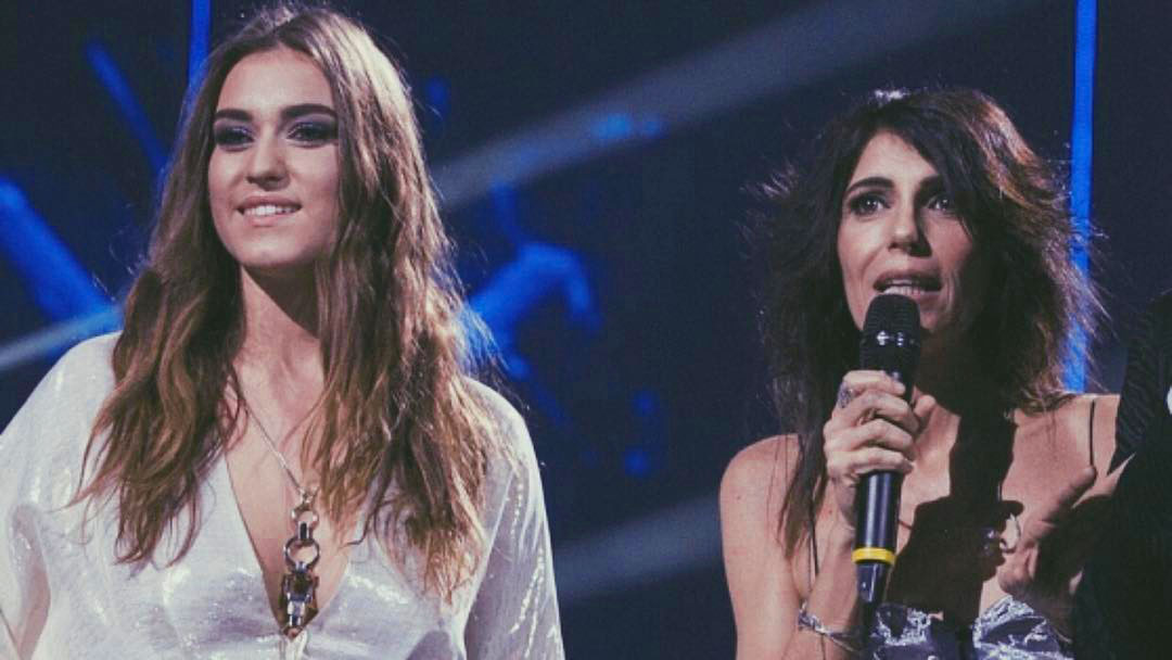 Gaia Gozzi con Giorgia
