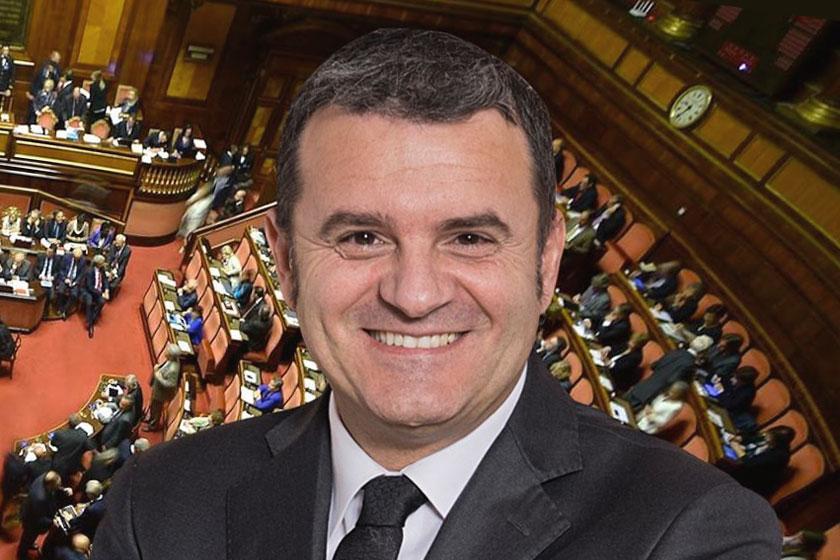 Gian Marco Centinaio al Senato