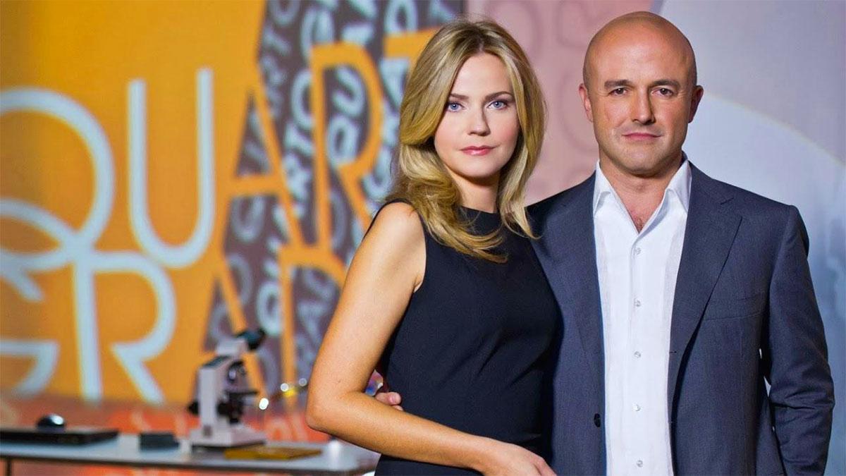 Quarto Grado: Gianluigi Nuzzi con Alessandra Viero nel 2020