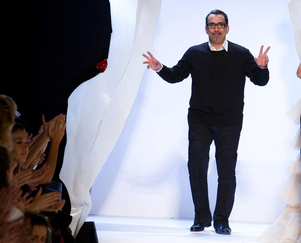 Guillermo Mariotto a una sfilata