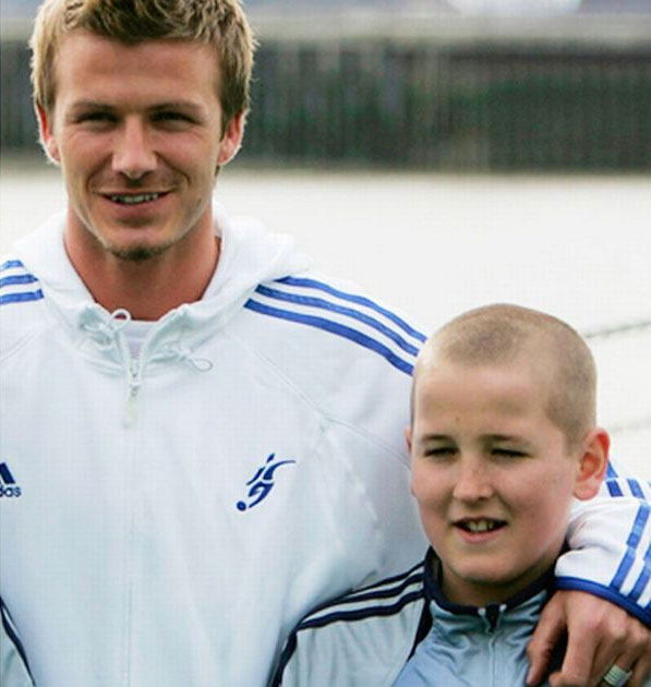 Harry Kane con David Beckham