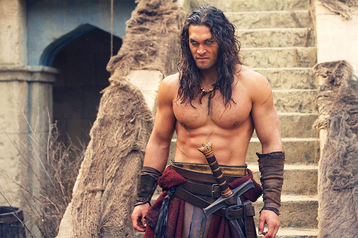 Jason Momoa nei panni di Conan il Barbaro