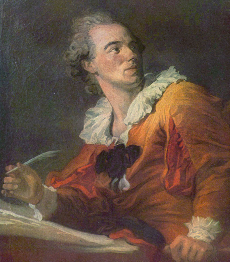 Jean-Honoré Fragonard (autoritratto)