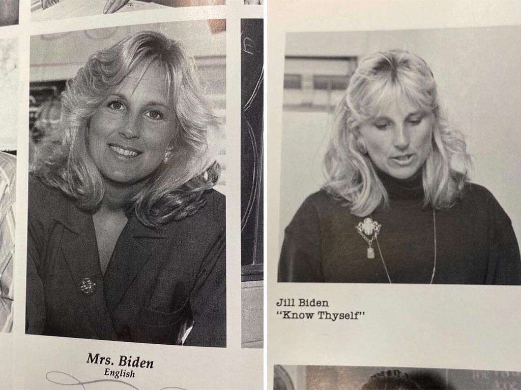 Jill Biden giovane