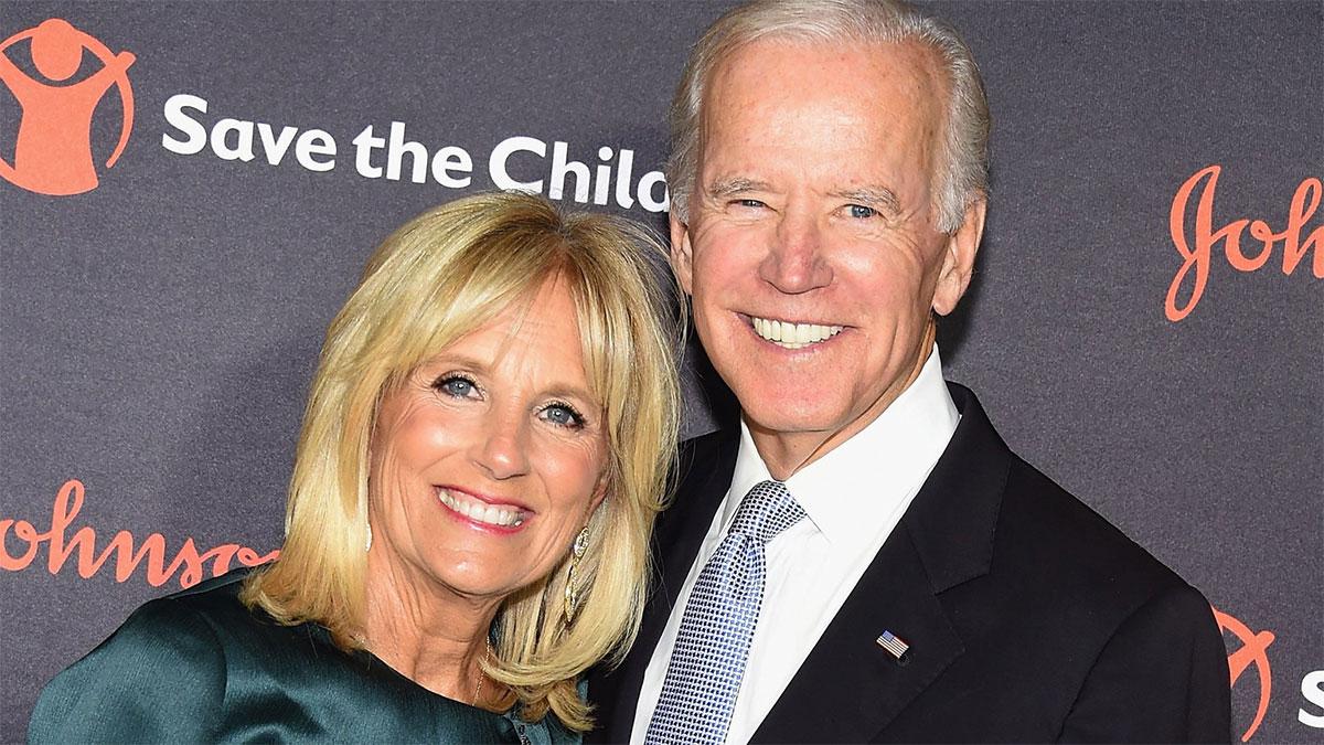 Joe Biden con la moglie Jill Jacobs